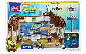 Mega Bloks SpongeBob Krusty Krab Attack by Mega Bloks