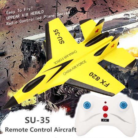 SU-35 RC Remote Control Helicopter Plane Airplane Foam 3.5CH Scale Toys