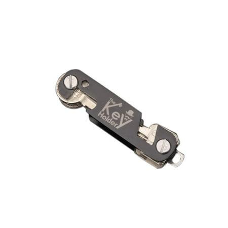 Compact EDC Key Organizer Keychain - Pocket Smart Key Holder ()