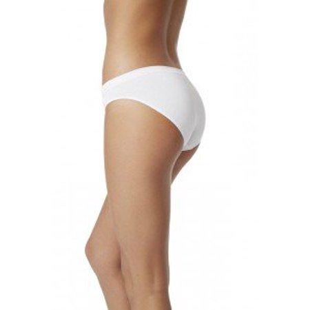 Organic Bamboo Classic Bikini White Boody Small Pack