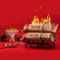 KFC Limited-Edition 11 Herbs & Spices Firelog by Enviro-Log