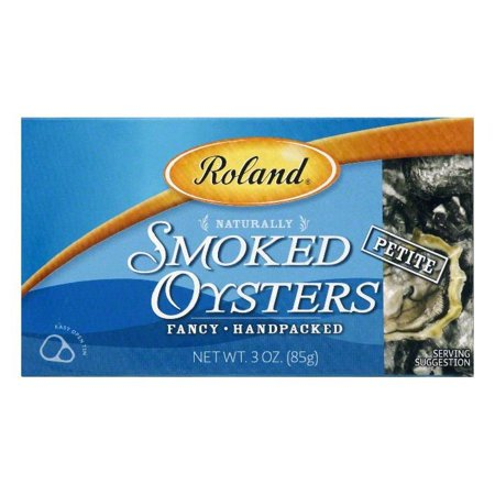 (2 Pack) ROLAND PETITE SMOKED OYSTERS