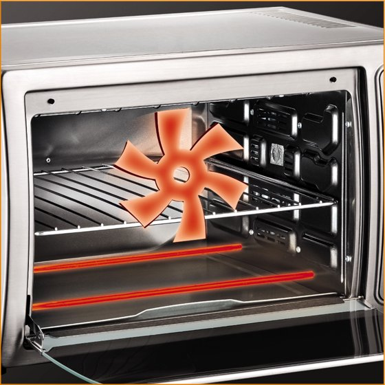 KRUPS Stainless Steel Deluxe Convection Toaster Oven