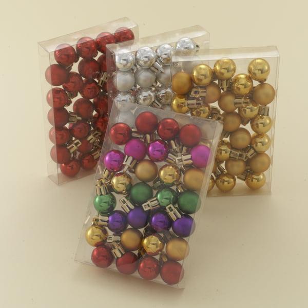 Club Pack of 1008 Miniature Shatterproof Christmas Ball Ornaments ...
