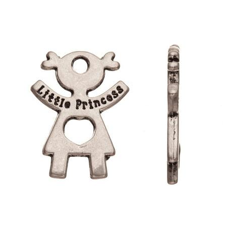 Plated Brass Figure - Charm/Drop