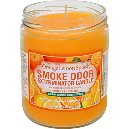 Smoke Odor Exterminator Candle Orange Lemon Splash Odor Exterminator Candle