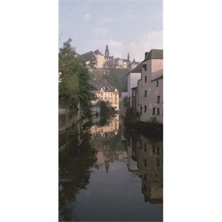 Luxembourg  Luxembourg City  Alzette River Flowing through Grund District Poster Print by  - 12 x 36 - image 1 of 1