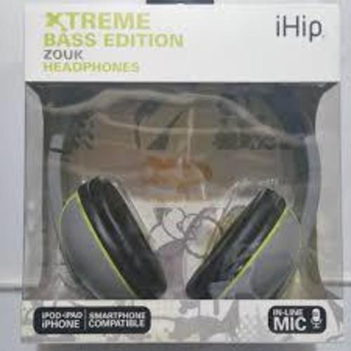 Black Xb Zouk Headphones W/Mic