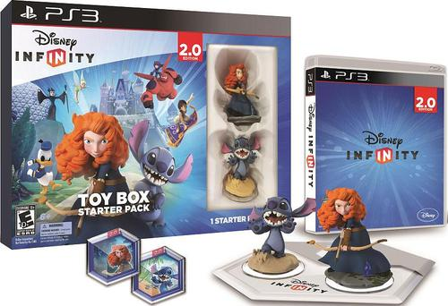 Disney Infinity 2.0 1192800000000 Gaming Figures Toy Box Starter Pack Playstation 3 by Disney Interactive