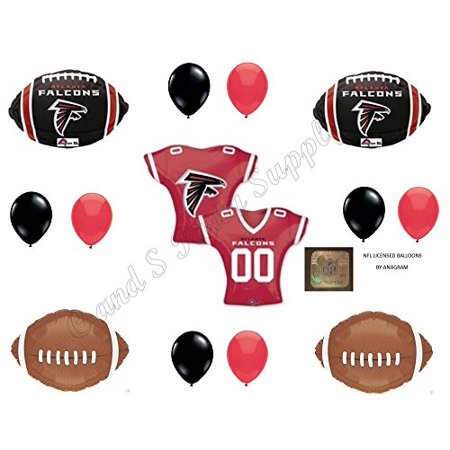 ANAGRAM FALCONS 13 PIECES! Birthday Party Balloons Decoration Supplies (Balloons Price)