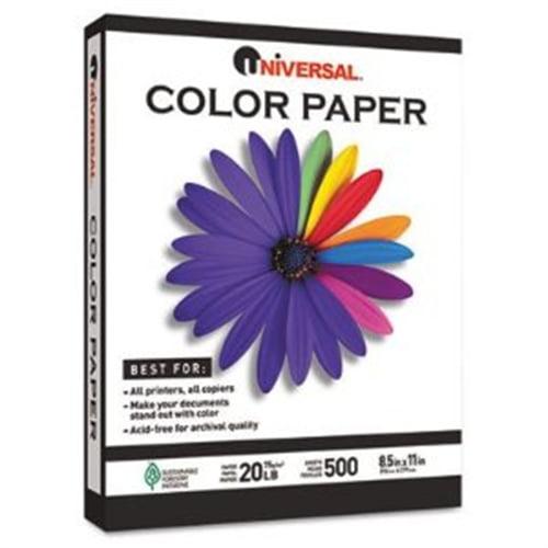 Universal Office Products Premium Colored Copier/Laser Printer Paper 11203