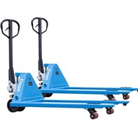 DAZONE M25N Hand Pallet Truck, Capacity of 5500 lb, Blue (Quantity: 2)