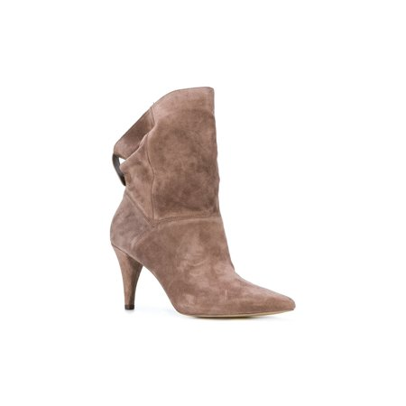 Michael Michael Kors Womens Carey Bootie Closed Toe Ankle Fashion Boots (Michael Kors Boots For Big Kids)