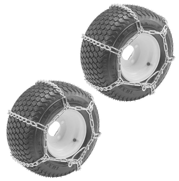 Oregon 2 Pack) 67-024 ATV 25X1300-9 Tire Snow Chains With...