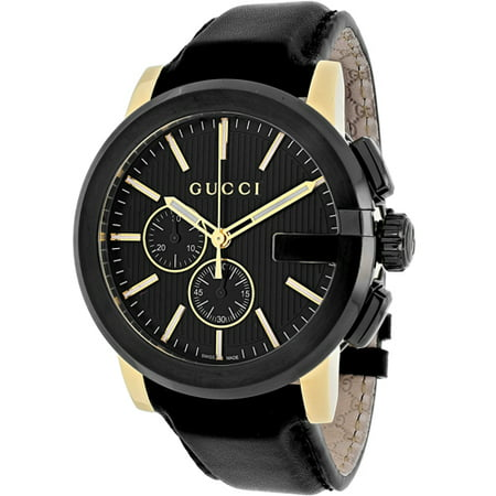 G-Chrono Chronograph Black Dial Mens Watch YA101203