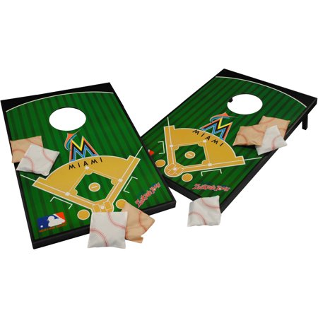 Wild Sports MLB Miami Marlins 2x3 Field Tailgate Toss by