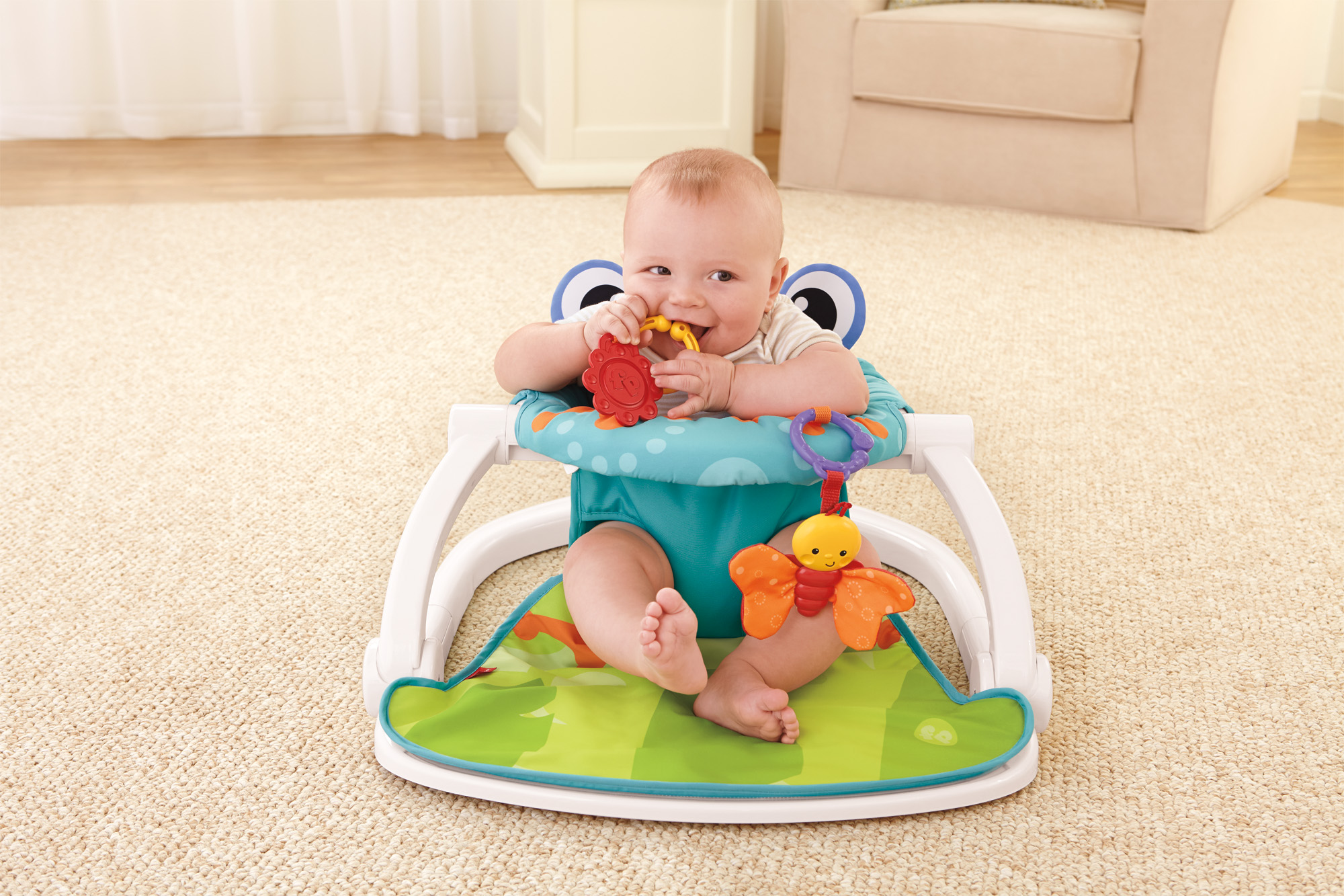 Fisher-Price Sit-Me-Up Floor Seat - Walmart.com