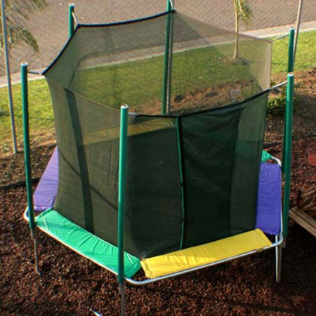Kidwise Sports Tramp Hexagon 12-ft. Trampoline with Enclosure