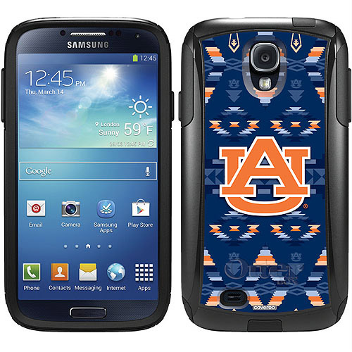 Auburn University Tribal Design on OtterBox Commuter Series Case for Samsung Galaxy S4