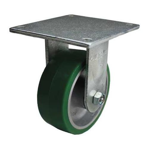 ALBION 12PD08201RG Rigid Plate Caster,1250 lb,8 In Dia