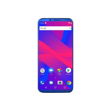 BLU Studio Mega 2018 S910Q 16GB Unlocked GSM Dual-SIM Phone w/ Dual 13MP + 2MP Camera -