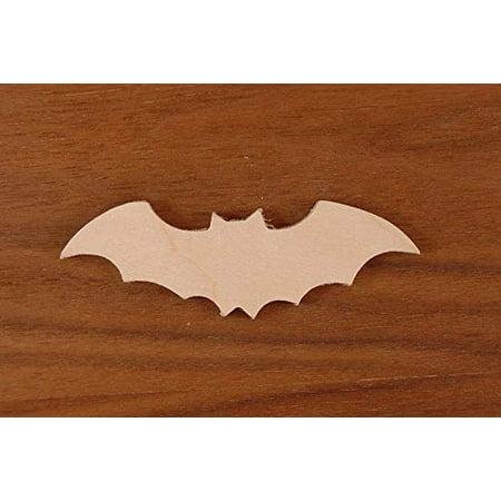 WOODNSHOP BAT Cut Out 1/8 x 2 PKG 25 Laser Cut Wooden BAT](Bat Cut Outs)