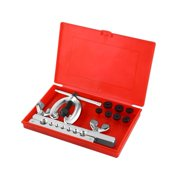 Yosoo 9pcs Pipe Flaring Tool Kit Tube Repair Flare Includes Clamp Spreader Dies, Pipe Flaring Kit, Pipe Flare Tool