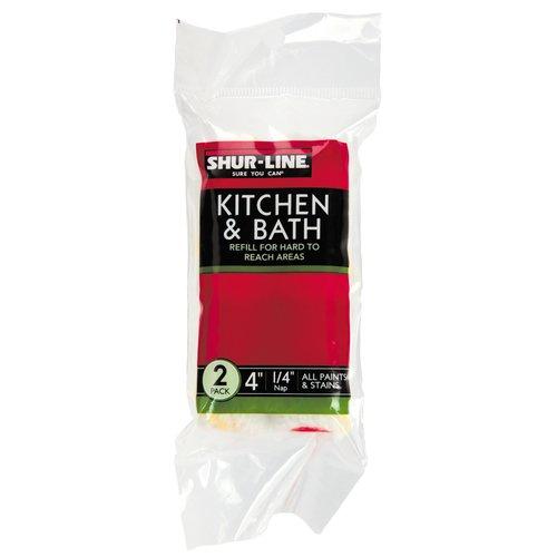 "Shur-Line 4"" Kitchen and Bath Mini Roller Refill"