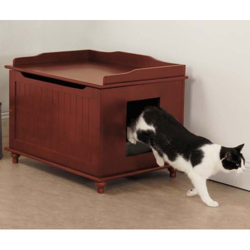 Meow Town Meow Town Litter Box Enclosure