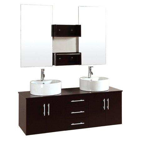 Kokols 9011 59 In Double Sink Bathroom Vanity