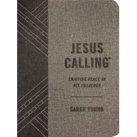 Jesus Calling(r): Jesus Calling (Textured Gray Leathersoft): Enjoying Peace in His Presence (with Full Scriptures) (Other)