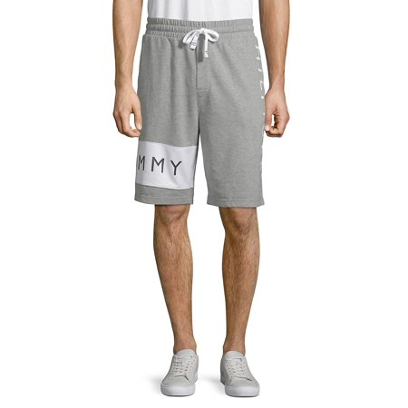 Heathered Logo Shorts