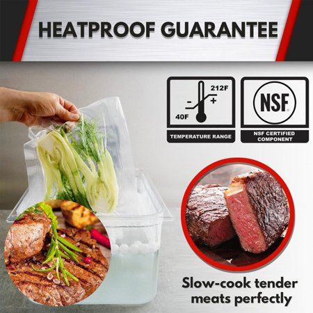 Sous Vide Container Steak Machine Container with 11L Lid Water Tank Bath - image 7 of 7