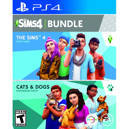 The Sims 3 Halloween (The SIMS 4 + Cats & Dogs, Electronic Arts, PlayStation 4,)