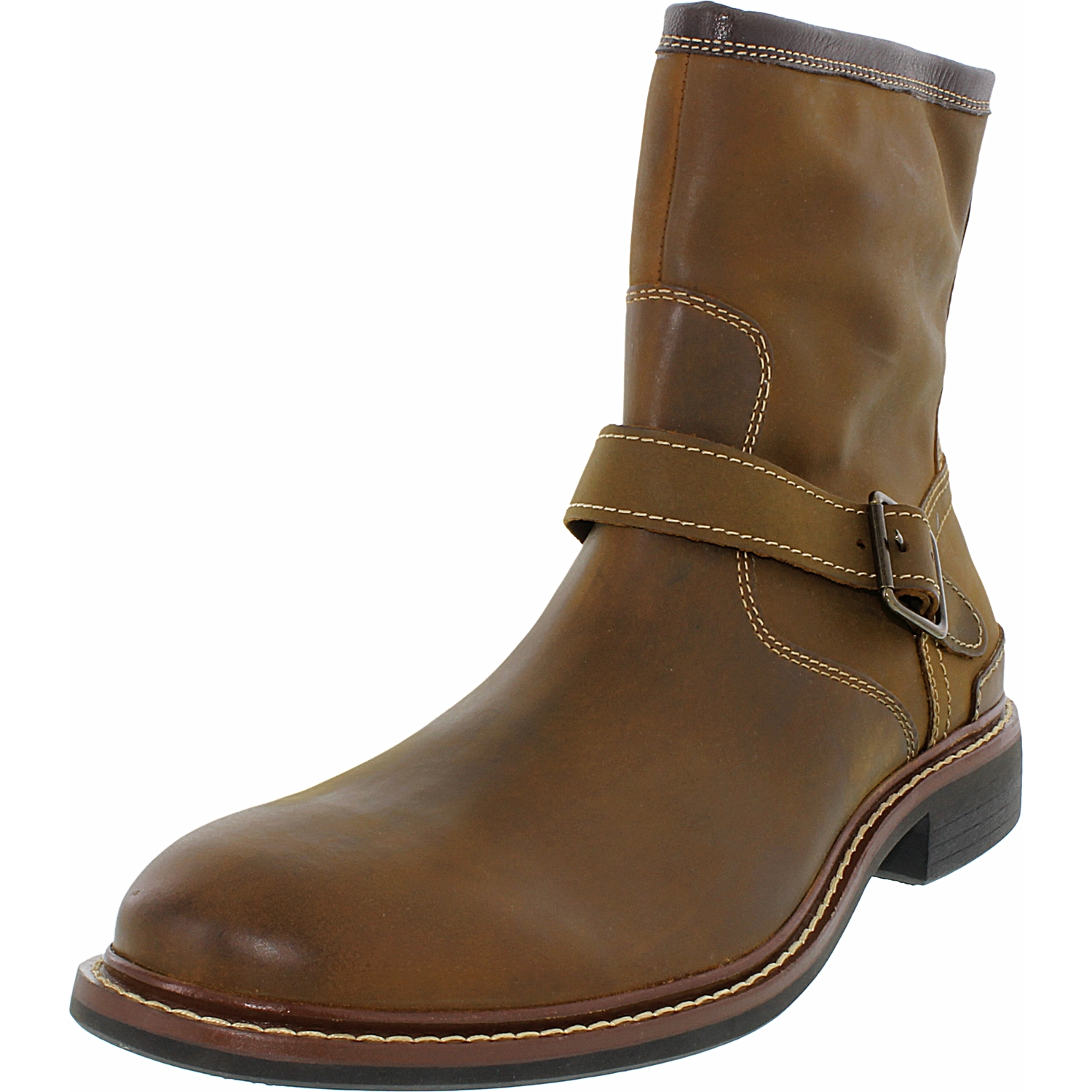 Cole Haan Men's Bryce Zip Boot Ankle-High Leather Boot
