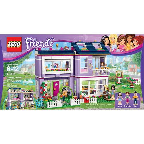 Lego Friends Emma's House by LEGO Systems, Inc.
