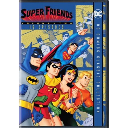 Challenge of the Super Friends: Season Two (DVD) (2 Best Friends Cartoon)