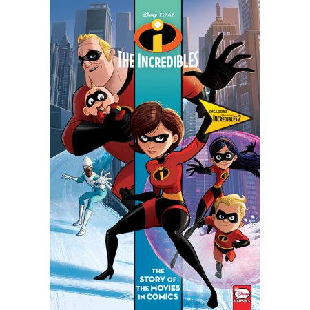 ISBN 9781506717609 product image for Disney/Pixar Incredibles and Incredibles 2: The Story of the Movies in Comics (H   upcitemdb.com