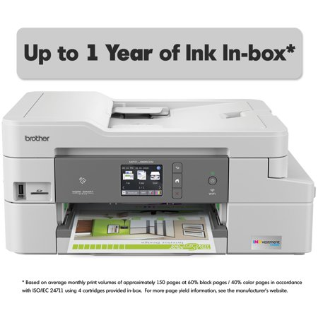 Brother MFC-J995DW INKvestment Tank Color Inkjet All-in-One Printer with up to 1-Year of Ink
