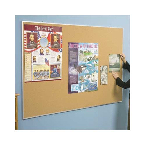 Best-Rite Valu-Tak Series Wall Mounted Bulletin Board