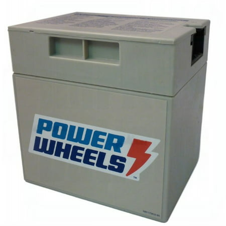 Power Wheels Barbie Jeep Battery 00801-0930 12 V Rechargeable Battery (Barbie Power Wheels Jeep Battery)