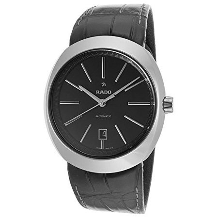 - Rado R15760155 mm Automatic Ceramic Case Black Leather Sapphire Crystal Men's Watch