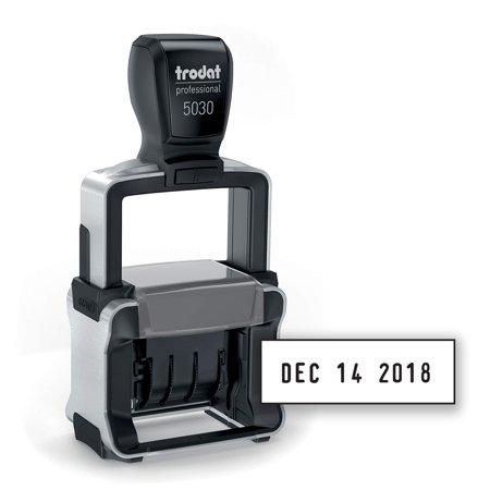 5030 Professional 4.0 Date Stamp, Line Dater, Self-Inking, Standard Date Format, Black Ink. Trodat
