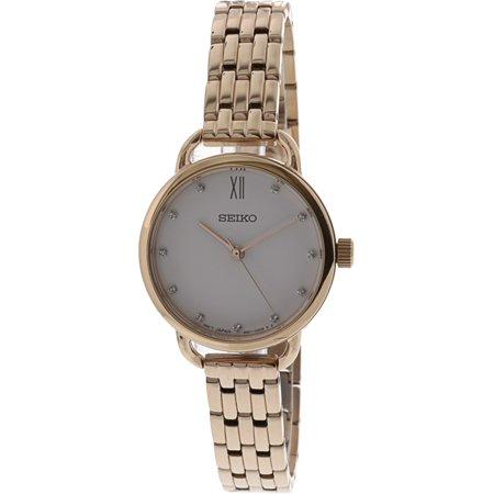 d0182f592 Seiko Women's SUR698 Rose-Gold Stainless-Steel Quartz Fashion Watch - image  1 of ...