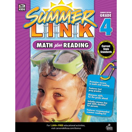 Math Plus Reading Workbook : Summer Before Grade (Go Math Grade 4 Answer Key Chapter 12)