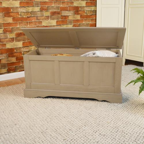 Devonshire Blanket Chest Weathered Grey