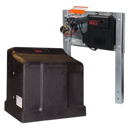 (Mighty Mule Single Slide Gate Opener for Heavy Duty Sliding Gates (MM-SL2000B))