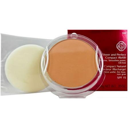 Shiseido Sheer and Perfect Compact Refill, Natural Deep Ivory .35 oz