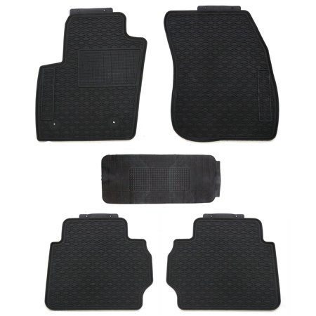 All Weather Floor Mats For Ford Fusion 2013 2018 Walmart Com
