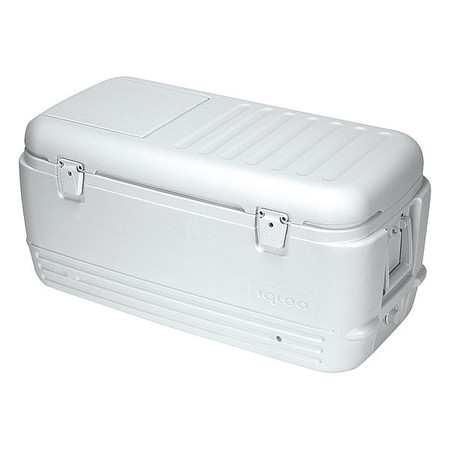 IGLOO 11442 Full Size Chest Cooler, 100 qt., White